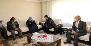 Erzincan'da Anneler Gününde şehit anneleri unutulmadı