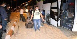 Kuveyt'ten yurda dönen 248 kişi, Yozgat'ta KYK yurduna yerleştirildi