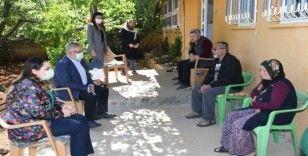 Vali Aykut Pekmez, Anneler Gününde şehit annelerini unutmadı