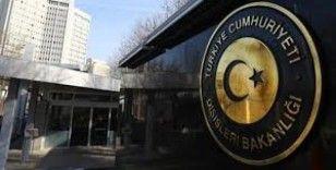 Dışişleri Bakanlığından kritik Hafter açıklaması