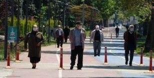65 yaş ve üstü vatandaşlar nefes aldı