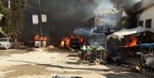 Suriye'de patlama: 15 yaralı