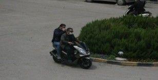 Korona motosikletlilerin umurunda değil
