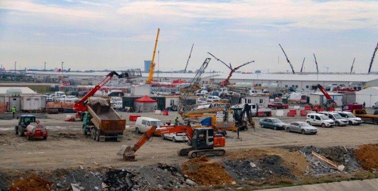 Yeşilköy salgın hastanesi açılış için gün sayıyor