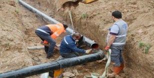 Elazığ'da içme suyu ana terfi hattı yenileneme çalışması