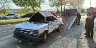 Kahramanmaraş'ta trafik kazası: 1'i ağır 2 yaralı