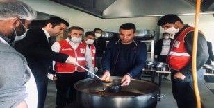 Hizan'daki ihtiyaç sahiplerine yemek yardımı