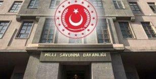 MSB: 'Barış Pınarı bölgesinde yol kenarına tuzaklanan mayın ve EYP'ler imha edildi'