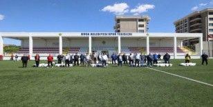 Başkan Kılıç'tan Bucalı amatör kulüplere Ramazan desteği