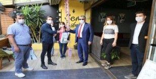 Edremit Belediyesi'nden berber ve kuaförlere destek