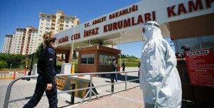 İzmir'deki cezaevlerinde koronavirüs önlemleri