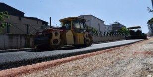 Osmangazi'de boş kalan yollar asfaltlanıyor