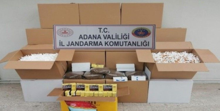 Ceyhan'da tütün mamülü operasyonu