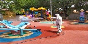Manisa'nın parkları çocuklar için hazırlanıyor