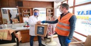 Fatsa Belediyesinden 200 berber ve kuaföre hijyen çantası