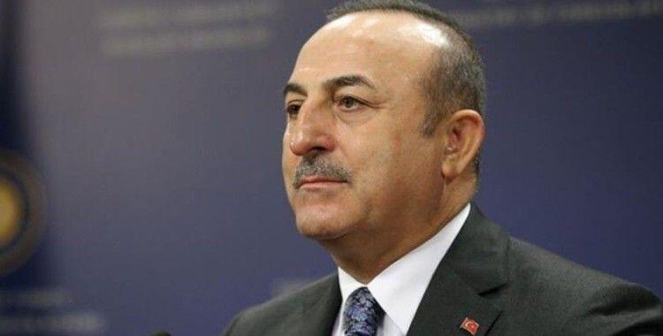 Bakan Çavuşoğlu, Uluslararası Koordinasyon Grubu'nun toplantısına katıldı