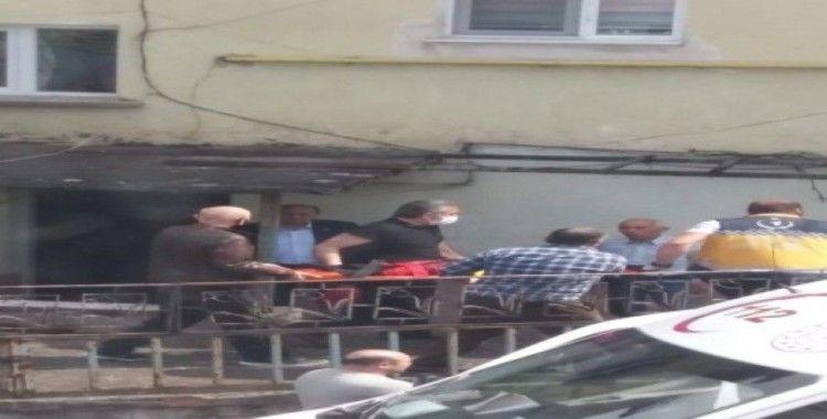 Zonguldak'ta 3 kattan düşen çocuk hastaneye kaldırıldı