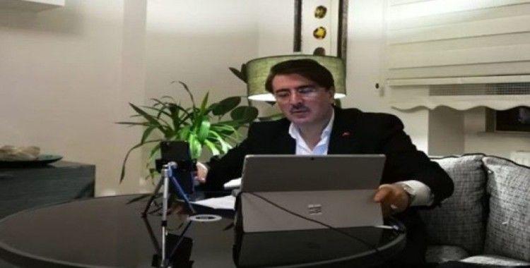 AK Parti Erzurum Milletvekili Aydemir, ADEM'e konuk oldu