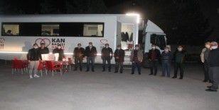Bayburt'ta Milli Eğitim camiasından kan bağışı
