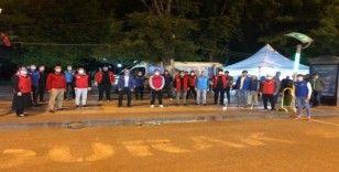 Gençlerden Türk Kızılay'ına kan bağışı