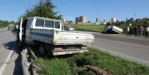 Yola dökülen mazot kazalara sebep oldu