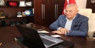 Şahin, Litvan Büyükelçiyle telekonferans üzerinden görüştü