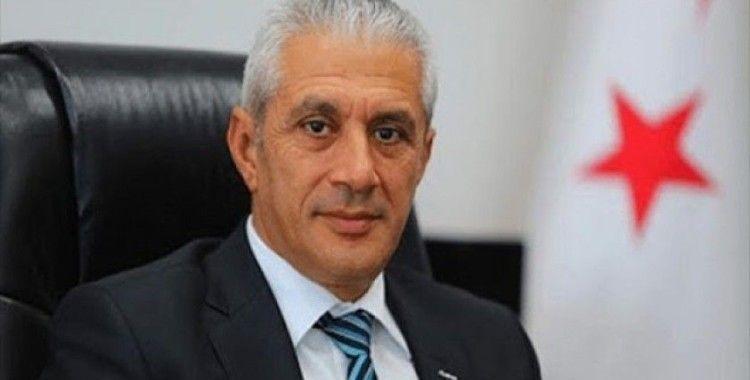 """KKTC Ekonomi ve Enerji Bakanı Taçoy'dan Rumlara tepki: """"Doğu Akdeniz'de istediğiniz gibi cirit atamazsınız"""""""