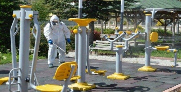 Havza'da korona virüs tedbirleri devam ediyor