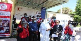 TİKA'dan Cibuti Kızılayı'na Covid-19 salgını ile mücadelede destek