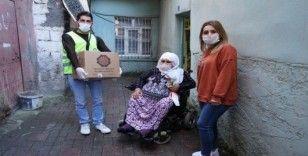 Diyarbakır Büyükşehir Belediyesi engellileri unutmadı