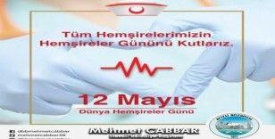 Başkan Mehmet Cabbar'dan hemşireler günü mesajı
