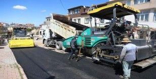 Eskişehir Bağları'nda 3 mahalle 6 sokak asfaltlandı