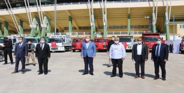 Barış Pınarı bölgesine 26 araç