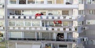 Balkonlar özgürlük simgesi haline geldi