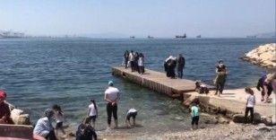 Bursa'nın sahil şeridi çocuklarla doldu taştı