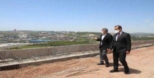 Çakmak ve Şayir, seyir terası projesini inceledi