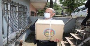 Körfez Belediyesi'nden vatandaşlara gıda yardımı