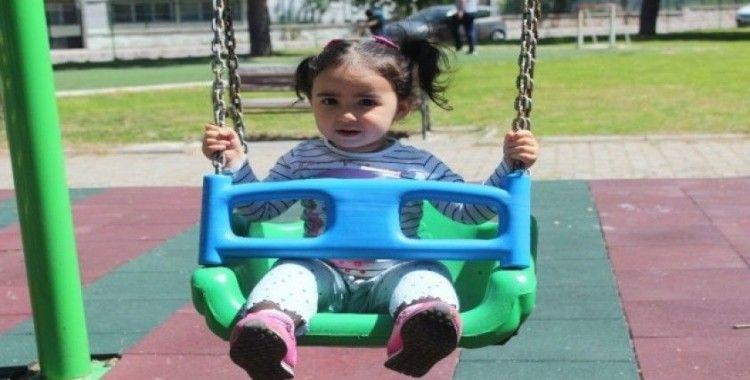 Menteşe'de çocuklar parklara akın etti
