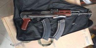 Akşehir merkezli silah operasyonu