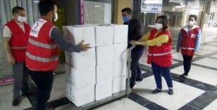 Türk Kızılayı vatandaşların yardımına koşmaya devam ediyor