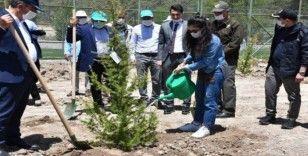 Elazığ'da sağlık çalışanları için hatıra ormanı