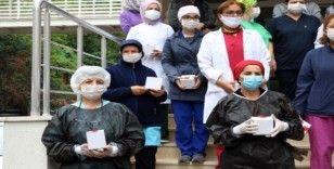 Eyüpsultan Belediyesinden hemşirelere sürpriz