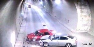Amasya'da kent güvenlik sistemine takılan ilginç kaza