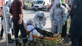 Kocaeli'de fabrikada kimyasal kazan patladı