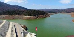 Akçay Barajındaki su seviyesi maksimum seviye çok yakın
