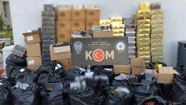 Adana'da kaçak cinsel içerikli ürün operasyonu