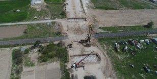 Ditaş Kavşağı ve Demiryolu Üst Geçidi İnşaatı Başladı