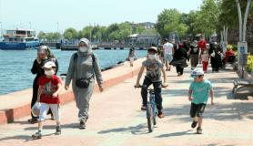 Kocaeli'de 14 yaş altı çocuklar uzun bir aradan sonra sokağa çıktı