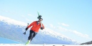 (Özel) Mayıs ayında kayak keyfi