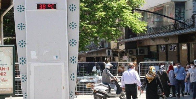 Gaziantep'te termometreler 38 dereceyi gösterdi